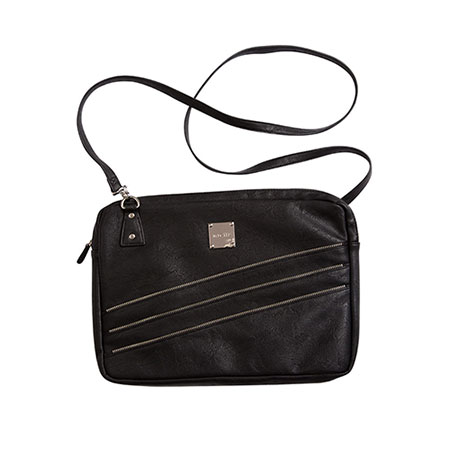 Laptop case- black w zipper