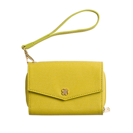Phone wallet-Chartreuse